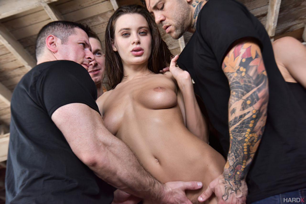 Lana Rhoades Sexo Grupo (5)