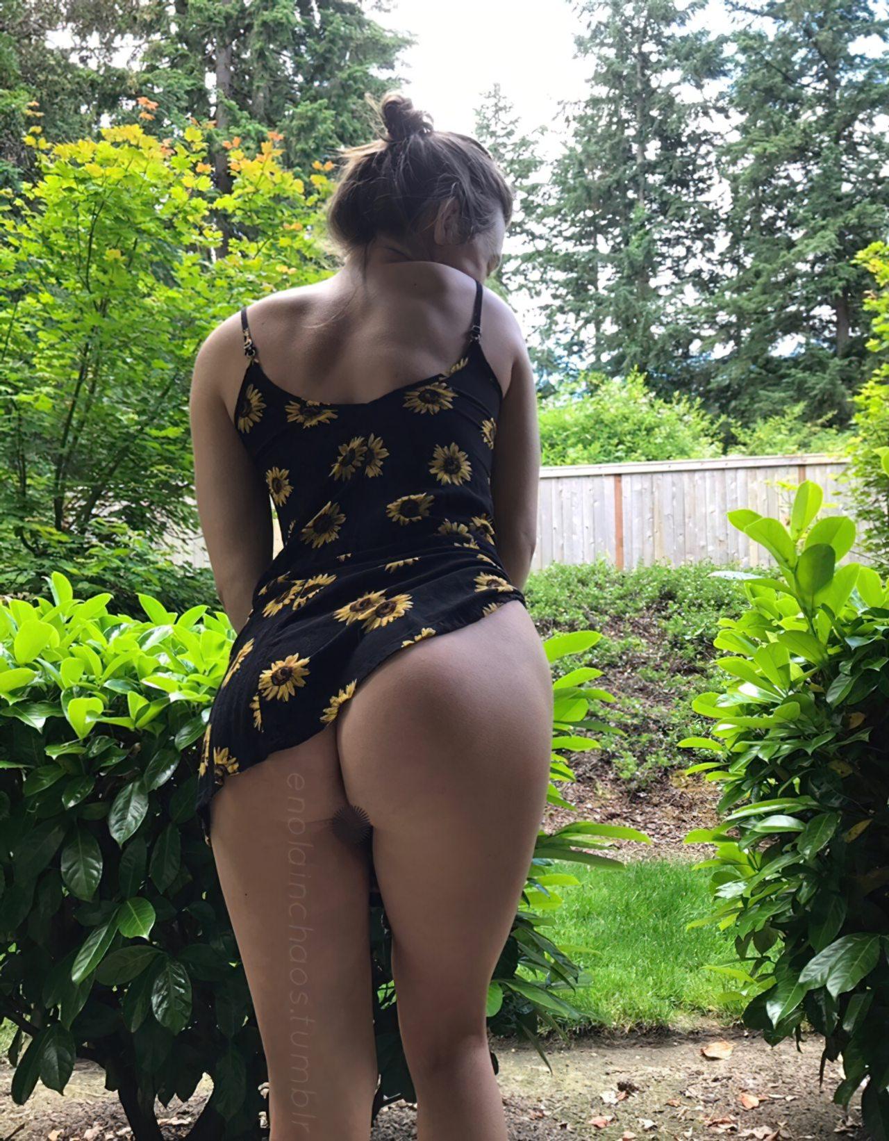 Tirando Vestido Jardim (1)
