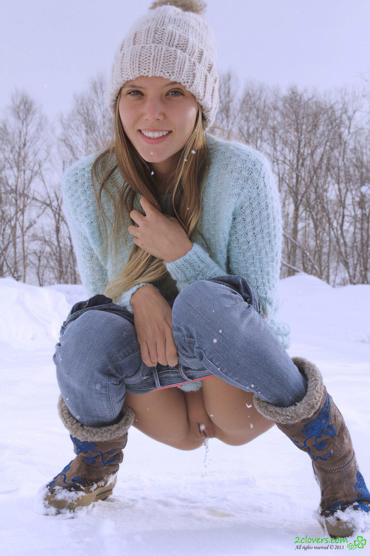 Mijando na Neve