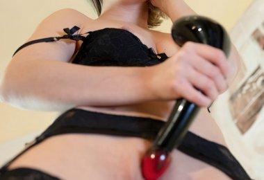 Mulher Masturbação Vibrador (6)
